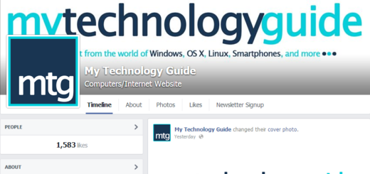 mytechguide facebook fanpage