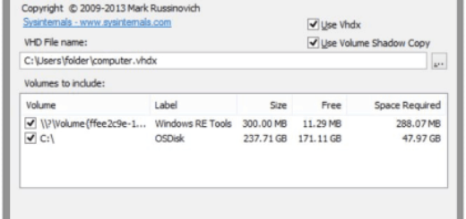 How To Create Virtual Disk From Hard Drive with Disk2vhd