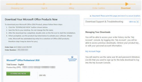 professional plus 2010 product key