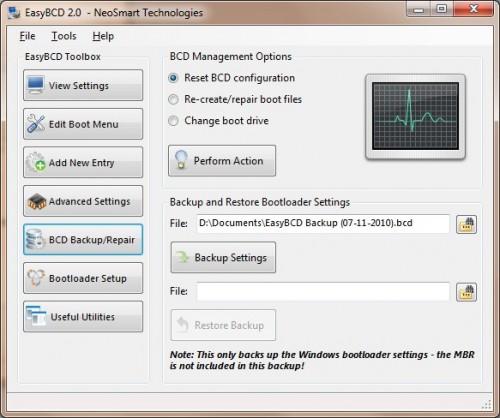 easybcd BCD backup and repair