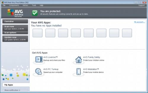 avg free offline installer for windows xp