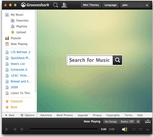grooveshark-desktop-mac