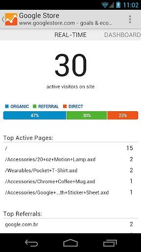 google-analytics-for-android-real-time-analytics