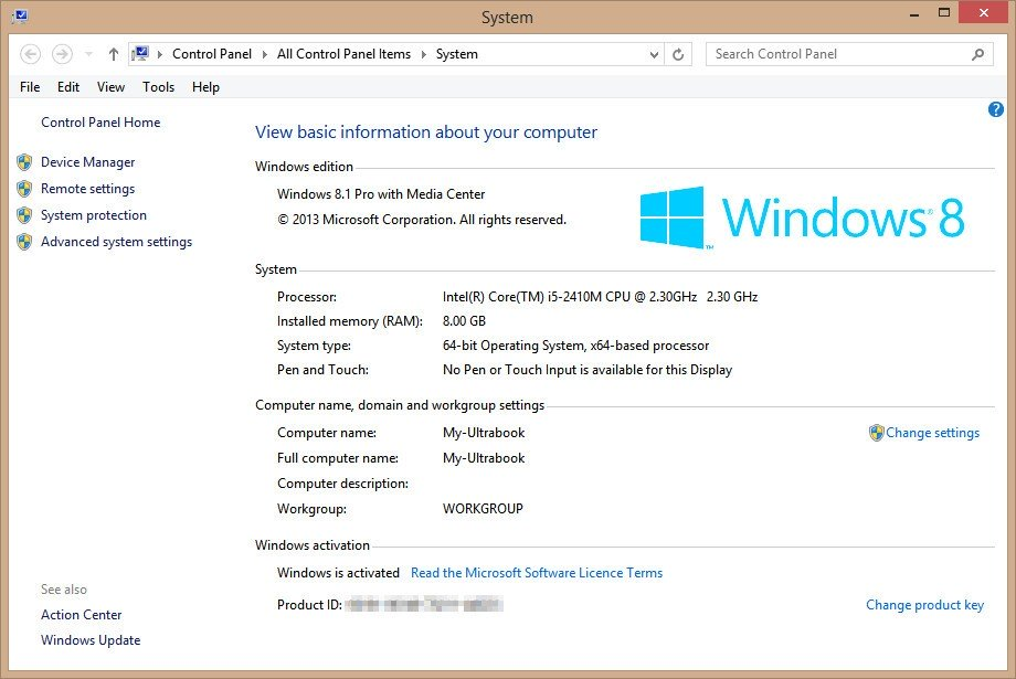 windows 8.1 change product key slmgr