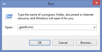 Open Windows Group Policy Editor