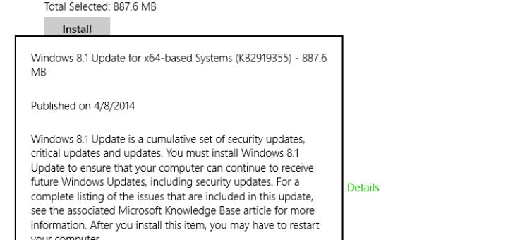 Fix Windows 8.1 Update 1 Issues