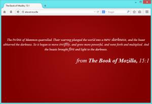 about:Mozilla page
