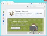 about:addons page