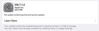 Download iOS 7.1.2 Update