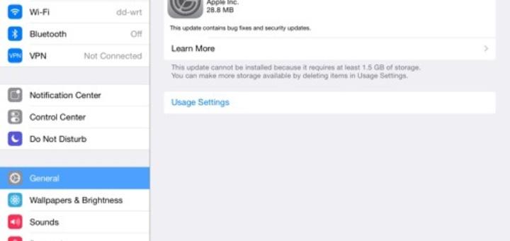 Install iOS 7.1.2 Update