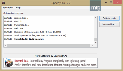 speedyfox-review-optimization-result