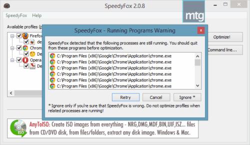 speedyfox-review-program-running-warning