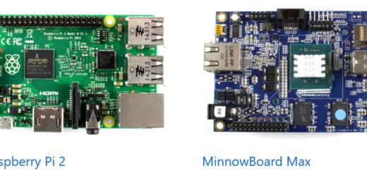 Windows 10 IoT Core supported development boards