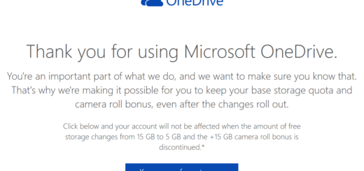How To Keep Your 15 GB Free OneDrive Storage and Camera Bonus Space