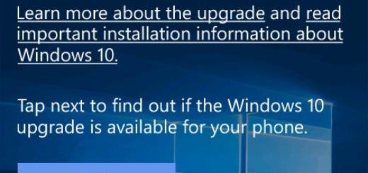 Windows 10 Mobile Upgrade Advisor app