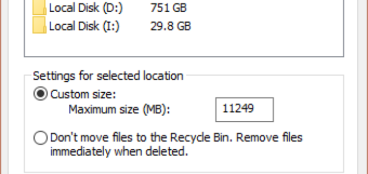 Enable Delete Confirmation Dialog Box
