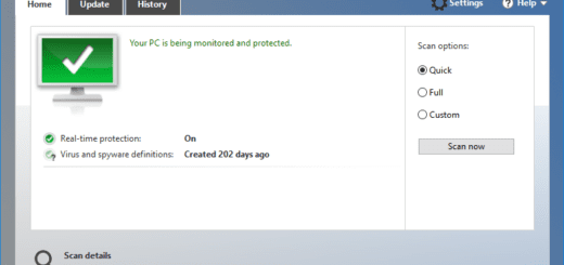 Windows Defender on Windows 10